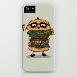 Geek Burger iPhone Case
