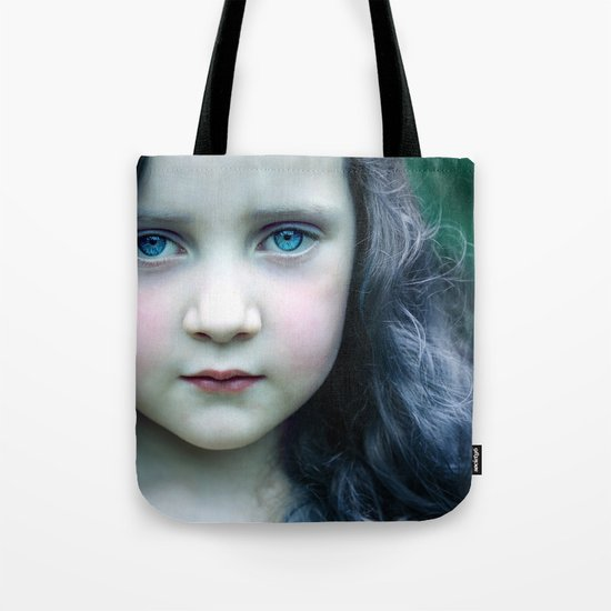 Even in my alternate universe, the rain makes my hair curl.  Tote Bag