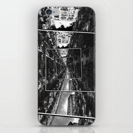 Spinning City iPhone Skin