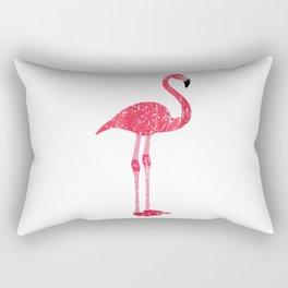 Hot Pink Flamingo Rectangular Pillow