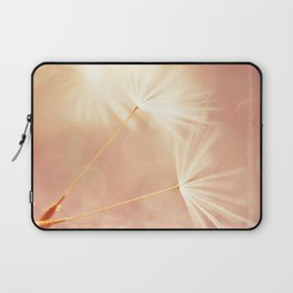My Wish for You. dandelion seeds photograph Laptop Sleeve
