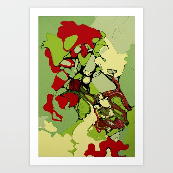 Orangery Art Print