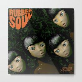 Rubber Soul Metal Print