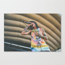 Like Moths To Flames Canvas Print
