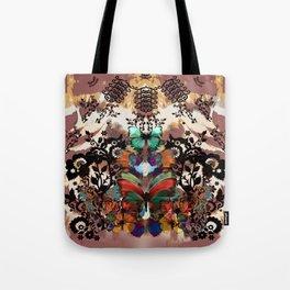 Lace & Butterflies Mix Tote Bag