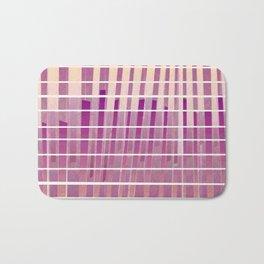 Purple Lines S18 Bath Mat
