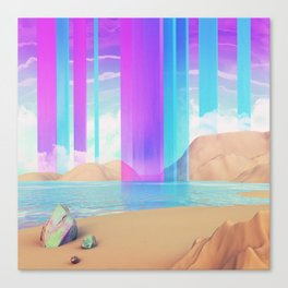 Vertical rythm Canvas Print