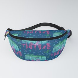 Rascal Raccoon & Airstream Dreams Fanny Pack