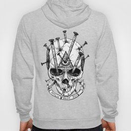 Drive in the Nails by Fred Gonzalez Hoody