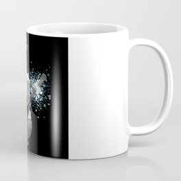 Let The Music Play - Black and White Coffee Mug