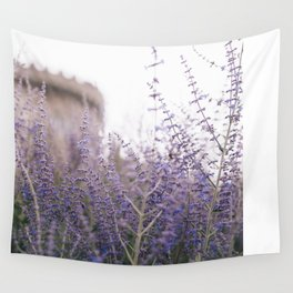 Lavender Fields Wall Tapestry