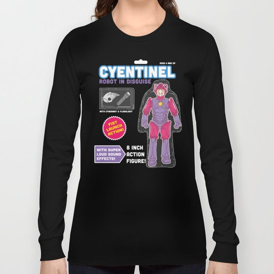 Cyentinel: Robot in Disguise  Long Sleeve T-shirt
