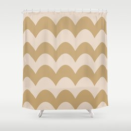 Fall Feels Good Pattern Shower Curtain