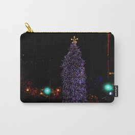 Even Streetlights Blink a Bright Red and Green (Chicago Christmas/Holiday Collection) Carry-All Pouch