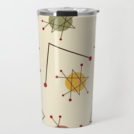 Atomic Era Autumn Travel Mug