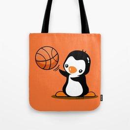 Basketball Penguin (2) Tote Bag