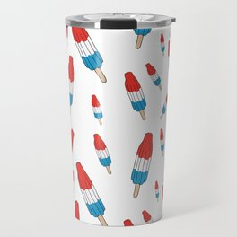 Bomb Pops Ice Cream Pattern Travel Mug