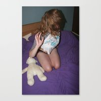 gemma Canvas Prints featuring Gemma by Wolf & Owl