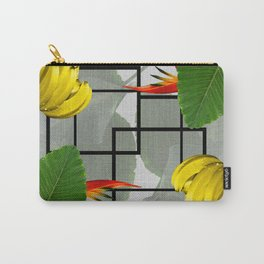 Tropical Squares Carry-All Pouch