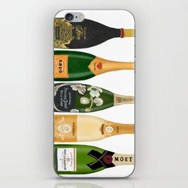 Champagne Bottles iPhone Skin