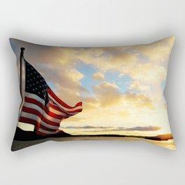 One Nation Under God Rectangular Pillow