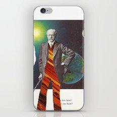 Professor OrangePants iPhone & iPod Skin
