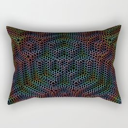 Psychedelic Pyramid Rectangular Pillow