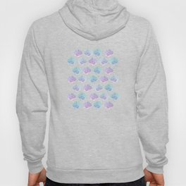 iridescent shells pattern Hoody