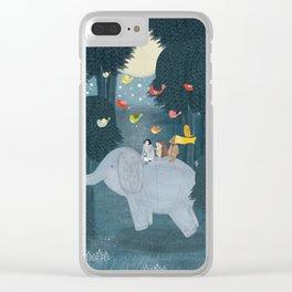 little friends Clear iPhone Case