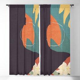 Tropical Girl 17 Blackout Curtain