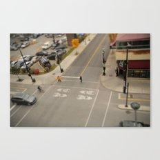 Tilt Montreal Canvas Print