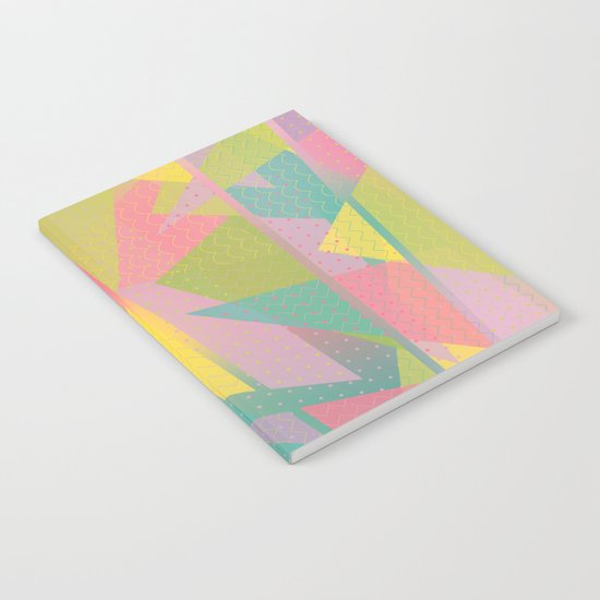 Abstract Geometric Pattern - Sugar Crush Notebook