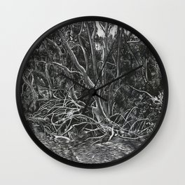 The Mangroves Wall Clock