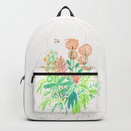 Flower flower Backpack