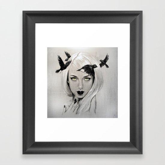 Crown - by Jay Turner Framed Art Print