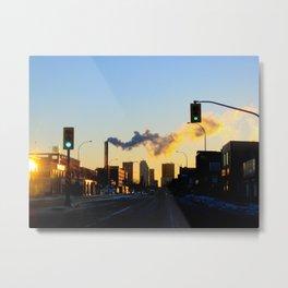 Winnipeg Morning Metal Print
