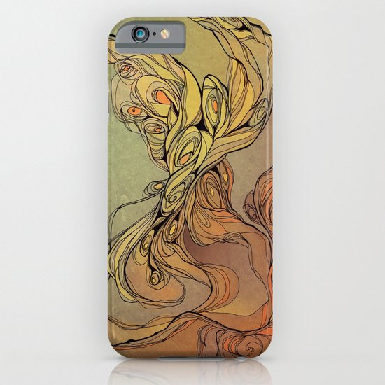 abstract floral composition 2 iPhone & iPod Case