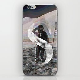 S is for Space. iPhone Skin