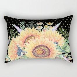 Flower bouquet #35 Rectangular Pillow