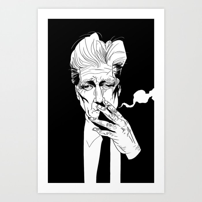 D.Lynch Art Print