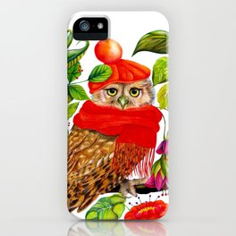 Charming Owl iPhone Case