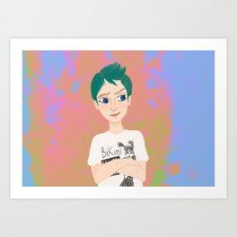 Gillian Art Print