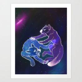 Pyccoly Cani nello Shpazie Art Print