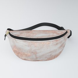 Martino rose gold marble Fanny Pack