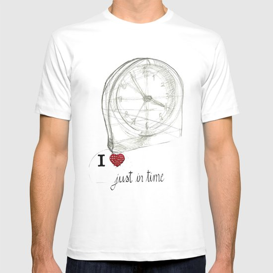 Just in time T-shirt