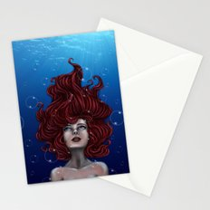 Tears of a Mermaid Stationery Cards