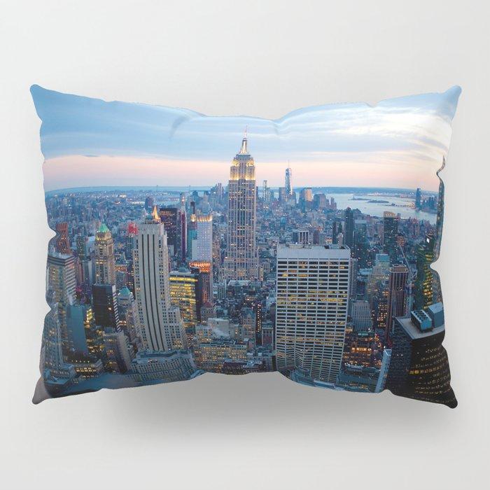 New York City Dusk Pillow Sham