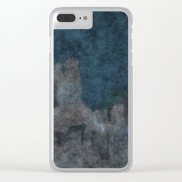 stained fantasy civilization Clear iPhone Case
