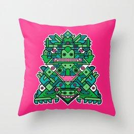 Totem 6 Throw Pillow