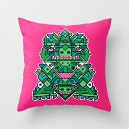 Totem 6 Throw Pillow
